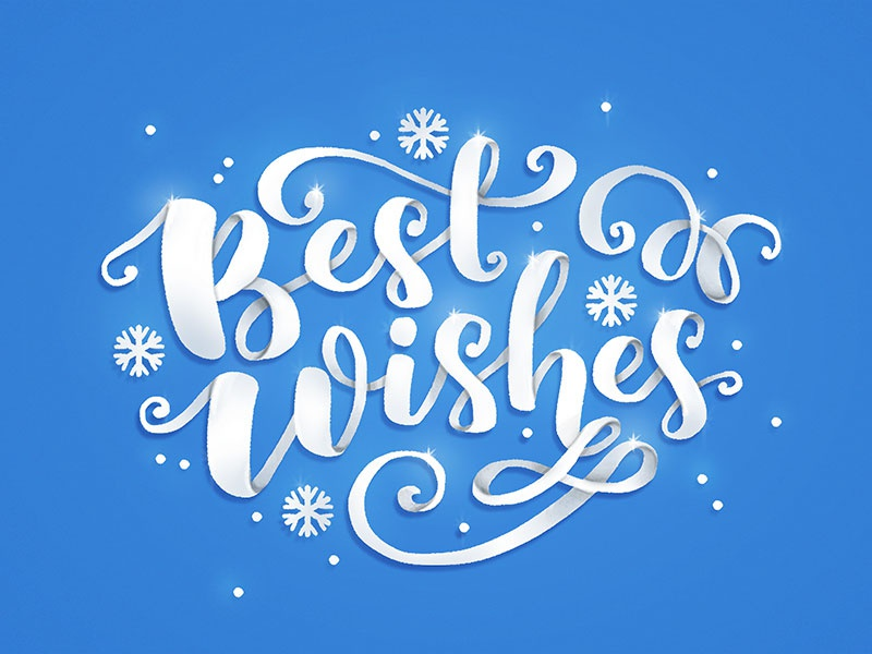 Winter Lettering paper illustration calligraphy winter typography lettering