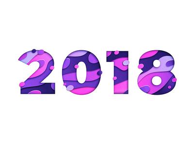 2018 Papercut Illustration