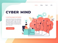 Cyber Mind web template