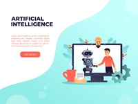 AI web template