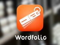 Wordfolio App Icon