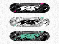 MRKT Skateboard Graphic