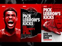 Pick LeBron's Kicks - NIKEiD