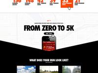 Nike.com Landing Page Tout