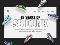 15 Years Nike SB Dunk Archive