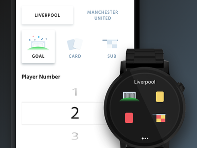 Referee App sports android watch wear os soccer football referee