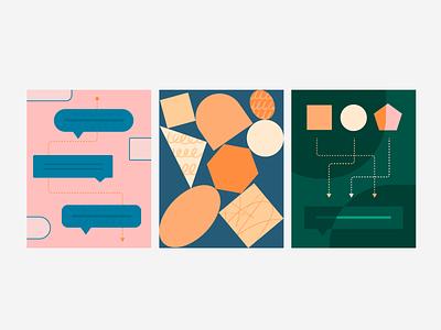 communication vector illustration graphic design ui color ux design branding