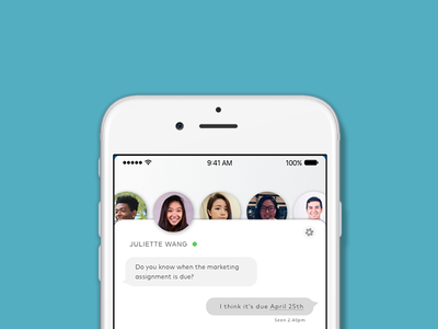 Direct Messaging   Daily Ui #13 texting friends design ux sketch direct message messaging ui daily ui