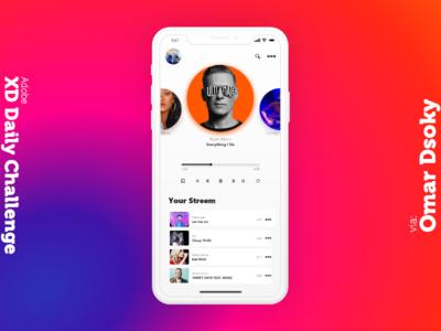 Creative Challenge Music App