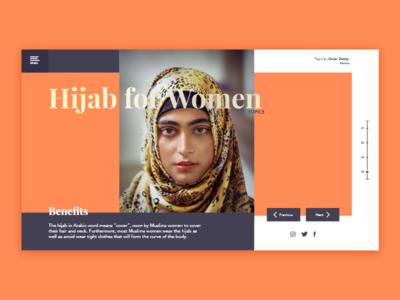 Hijab for Women - UI ./Topics page