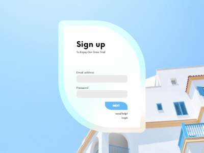 Sign up | Practice Design