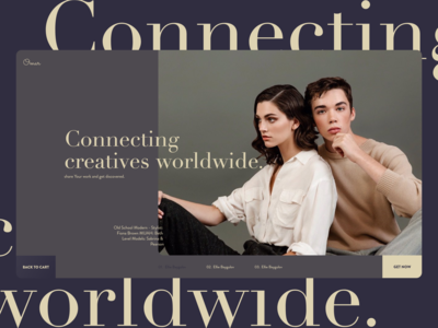 Connecting creatives worldwide.