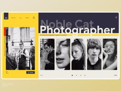 Photographer Profile.