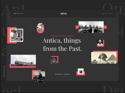 Antica Project ( Interaction design) Showcase