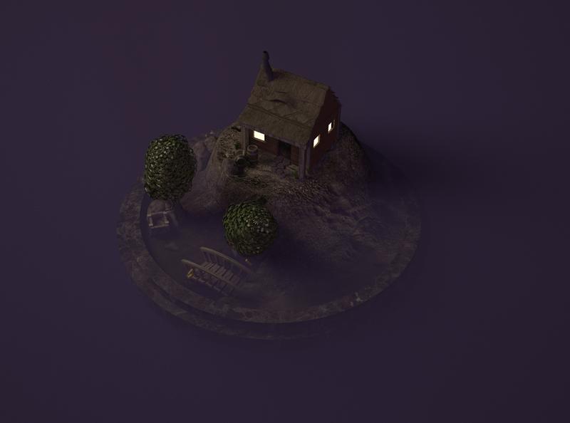 Mini Miner abode