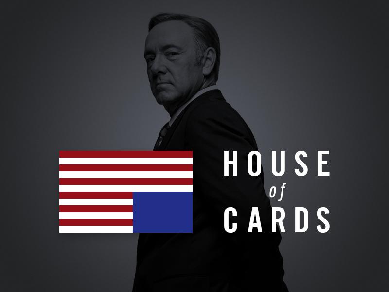 House Of Cards - Tribute house of cards house cards netflix movie tribute titel usa whitehouse logo logomark logotype
