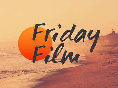 Friday Film logotype logomark logo brand shade identity visual identity typo typography