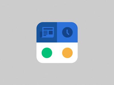 Designer News App Icon Rebound