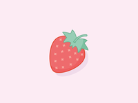 100 Day Project - Day 4 - Strawberry