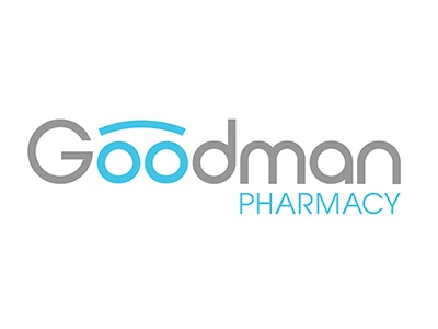 Goodman Pharmacy Logo By Philip Dangerfield