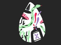 Poison — #1 Inktober 2018