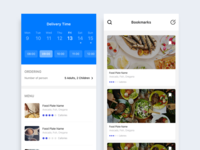 Food Delivery Service Application Design