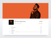 Music Platform E-Commerce Template
