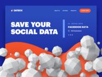 Landing Page For Security Data Platform