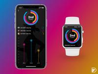 Daily UI - Fitness Tracker