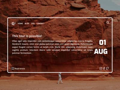 Website Concept website web webdesign vector ux ui minimalist minimal figma design