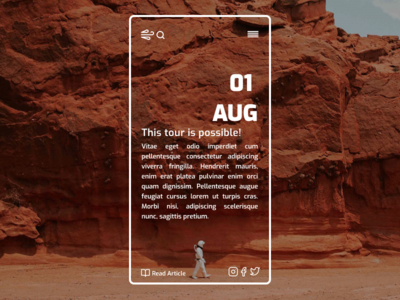 Website Concept web design website mobile design mobile ux ui minimalist minimal figma design