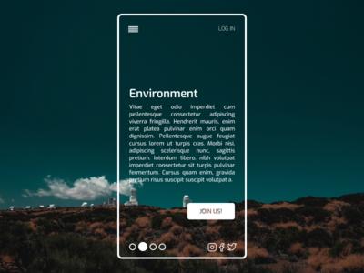 Website Concept app website webdesign mobile design mobile ui ux minimalist minimal figma design