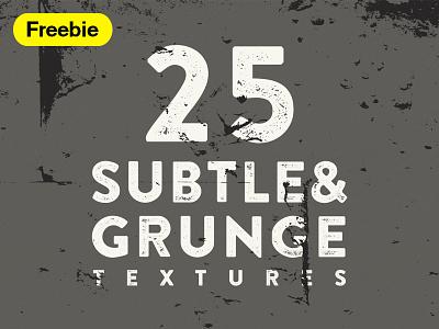 25 Grunge & Subtle Vector Textures freebie textures vector subtle grunge