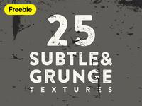 25 Grunge & Subtle Vector Textures