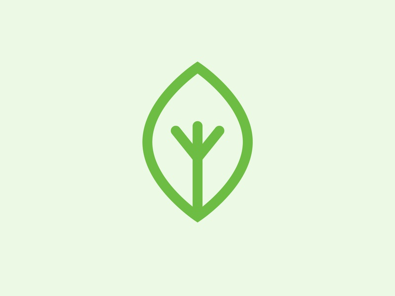 Leaf Icon natural green icon design icons leaf logo nature icon leaf