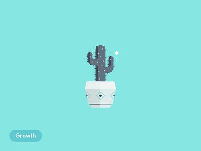 Growth cactus growth blog illustrations ecommerce alliioop