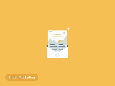 Email Marketing email marketing illustrations ecommerce letter blog alliioop