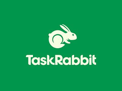 TaskRabbit Brand Identity sharing economy taskrabbit logotype type logo branding rabbit task