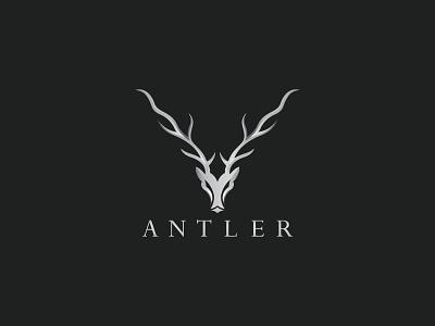 Antler Logo Design deer animal logo design vector illustration logo freepik