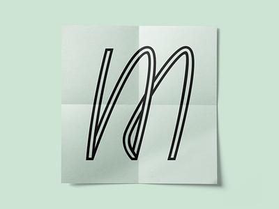 13 / 36 - «M» m 36daysoftype type 36daysoftype07 font lettering letter logotype logo
