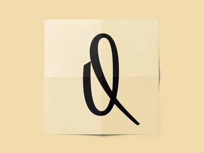 17 / 36 - «Q» typography type 36daysoftype 36daysoftype07 font letter lettering dribbble logotype logo