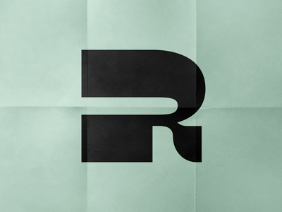 18 / 36 - «R» typography 36daysoftype 36daysoftype07 type calligraphy font letter lettering logotype logo