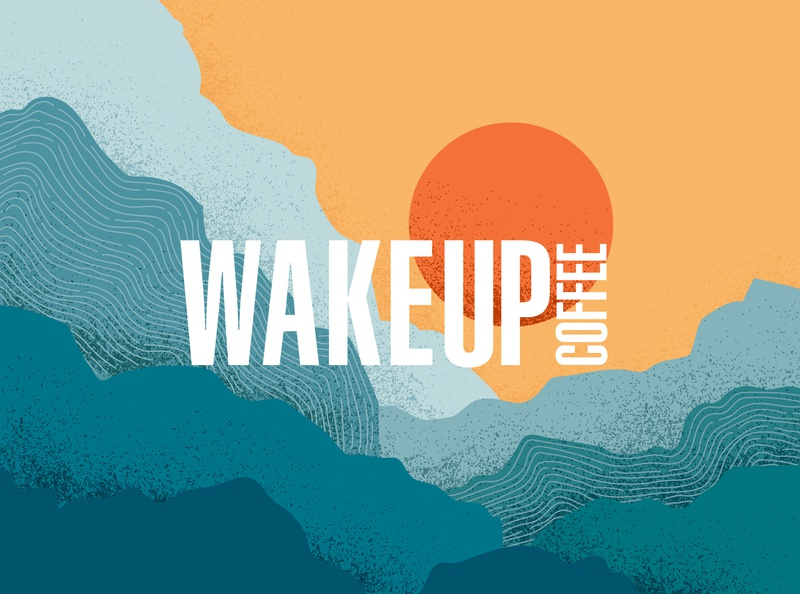 Wake Up Coffee - Identity & Illustration