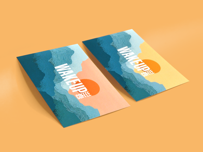 Wake Up Coffee - certificates wakeup coffee vector design identity branding illustration dribbble