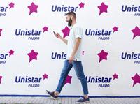 Unistar - Radio Station bubble speech bubble star identity branding dribbble logotype logo