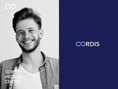 CORDIS | Medical center | Logo & Brand Identity infinity surgery cardiac medical brand identity brand design type branding identity letter lettering logo