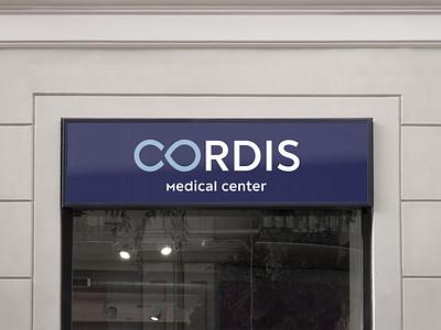 CORDIS | Medical center | Signboard surgery cardiac medicine medical logo identity branding logo