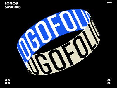 LOGOFOLIO 2020 icon mark lettering identity graphic design logo design letter typography logofolio branding logotype logo