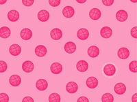 Dribbble Invitation! Polka dots dribbblers)