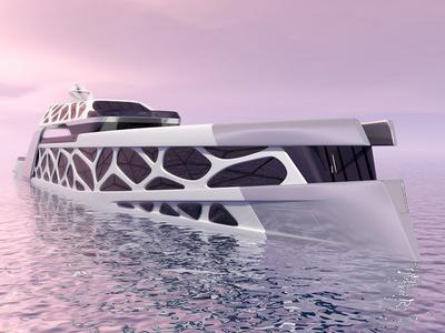 Intimisea By Expleo product design futuristic concept yacht design superyacht